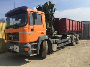 odvoz odpadu veľkokapacitným kontajnerom - Ekoslužby Bratislava